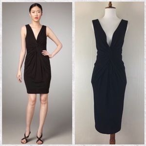 Robert Rodriguez Black Label Marilyn Knotted Dress